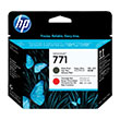 HP 771 Ink   M Blk/Chrm Rd
