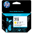 HP 711 Yw Ink 3 Pack